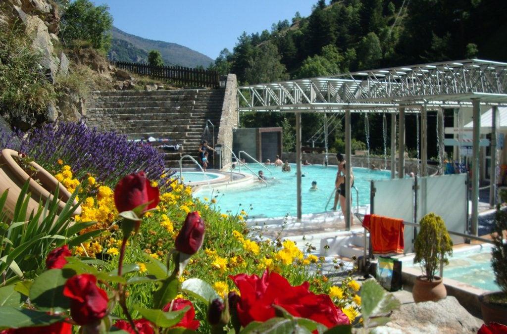 Bains d'eau chaude Font-Romeu
