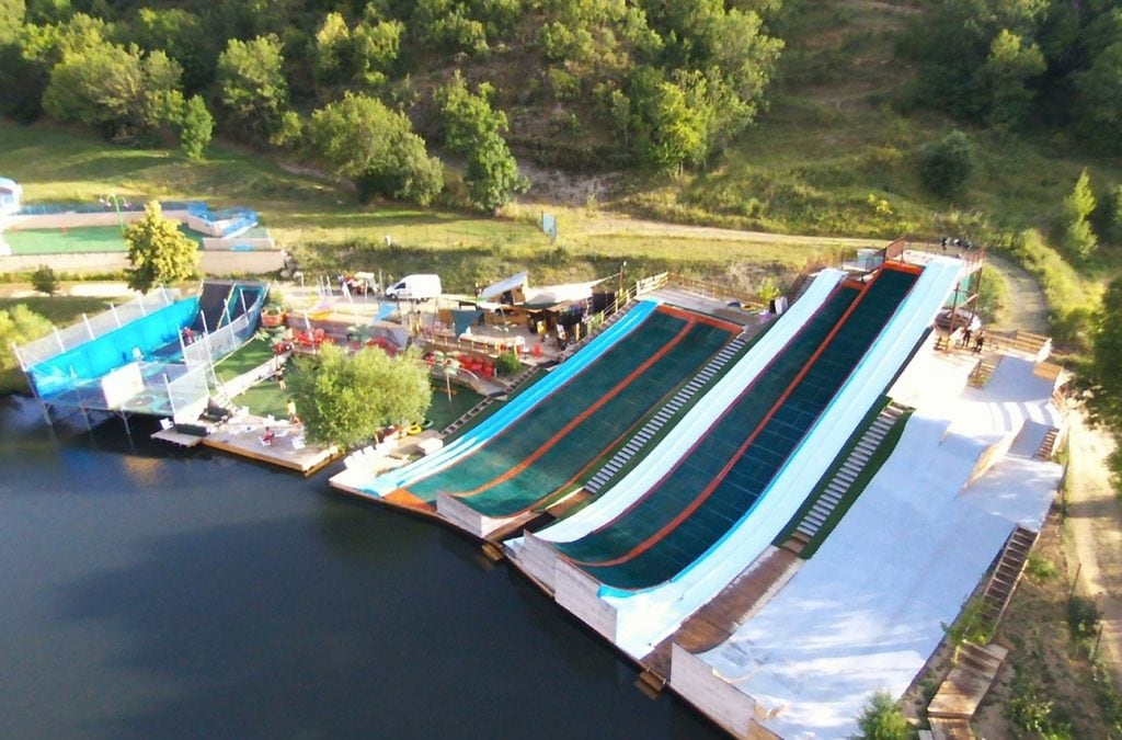 Drop-in Cerdanya Water Jump