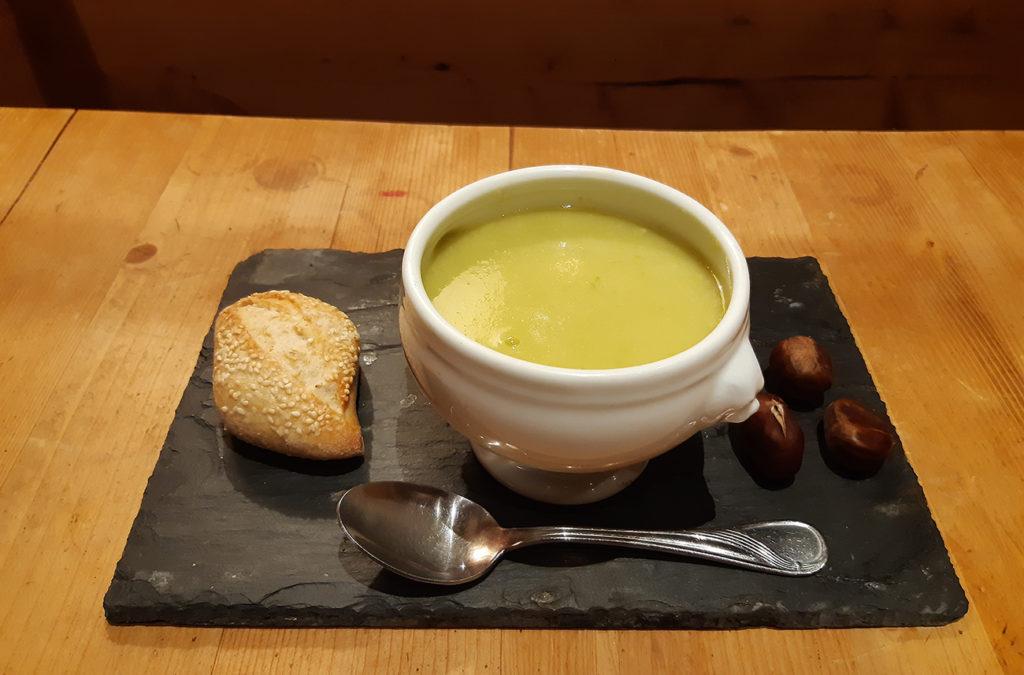 Hôtel Carlit - Font-Romeu - Plateau repas - Potage